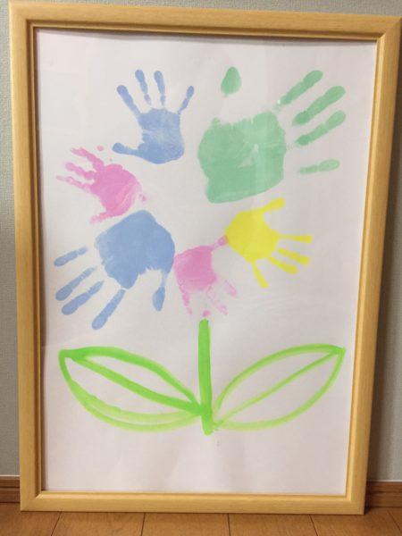 四つ切り等の子供の絵の飾り方【レビュー】