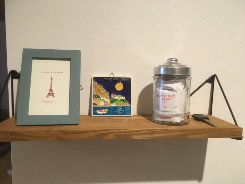 LABRICOのトライアングルフレームで壁に無垢のオシャレ棚を簡単DIY!【レビュー】